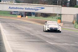 Honda Civic WTCC, test di Vallelunga
