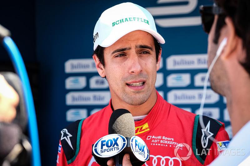Ganador de la pole Lucas di Grassi, ABT Schaeffler Audi Sport