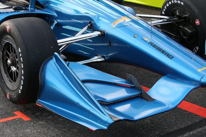 Машина IndyCar для сезону 2018 року із двигуном Chevrolet