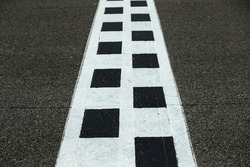 Start and finish stripe