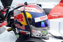 Helmet of  Sébastien Buemi, Toyota Gazoo Racing
