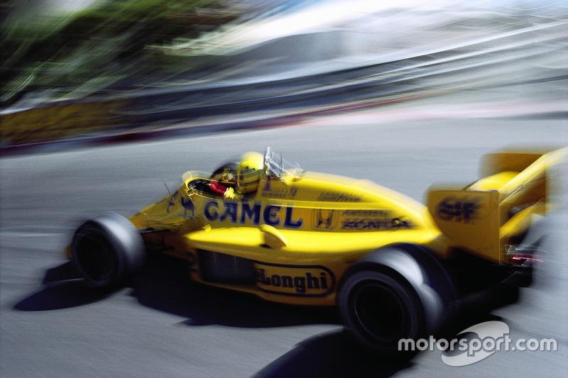 1987 - Vencedor Ayrton Senna, Lotus-Honda