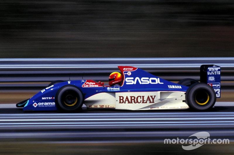 Mauricio Gugelmin, Jordan Yamaha 192