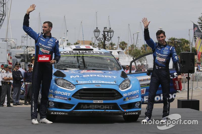 Eric Camilli, Nicolas Klinger, M-Sport, Ford Fiesta WRC