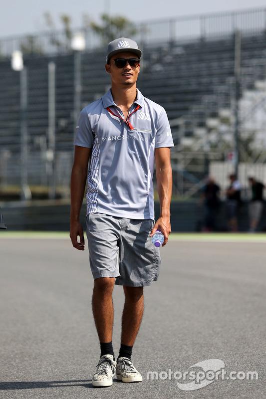 Pascal Wehrlein, Manor Racing