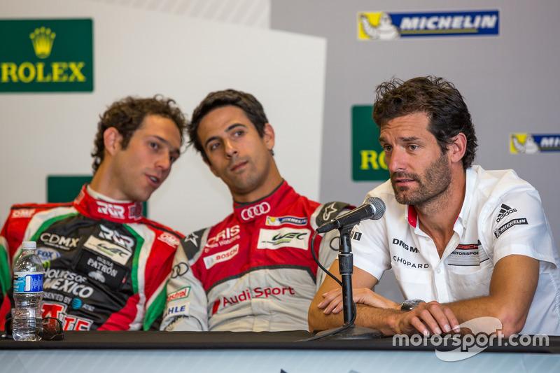 Mark Webber, Lucas di Grassi, Bruno Senna