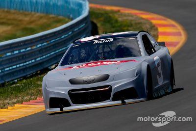 NASCAR-Test in Watkins Glen, Juli