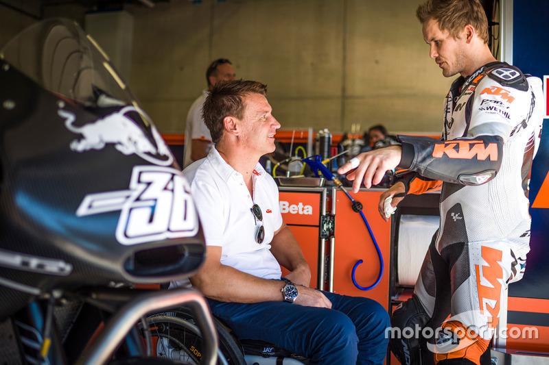 Pit Peirer and Mika Kallio, KTM RC 16