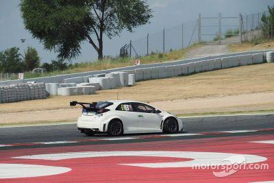 Honda Civic WTCC Barcelona testi