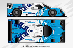 Douglas Motorsport Ligier JS P3