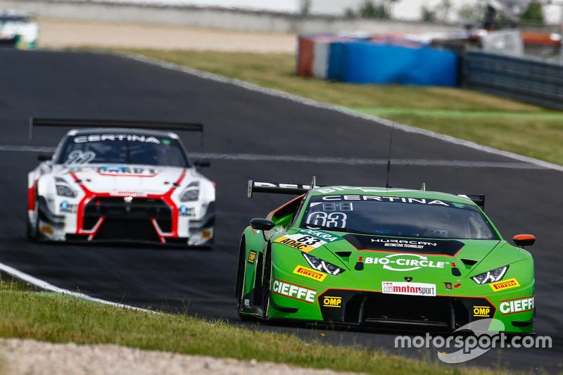 Dritter Verfolger: Grasser-Lamborghini #16