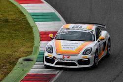 Porsche Cayman GT4 #253, Zangari-Zangari, CVG Motorsport