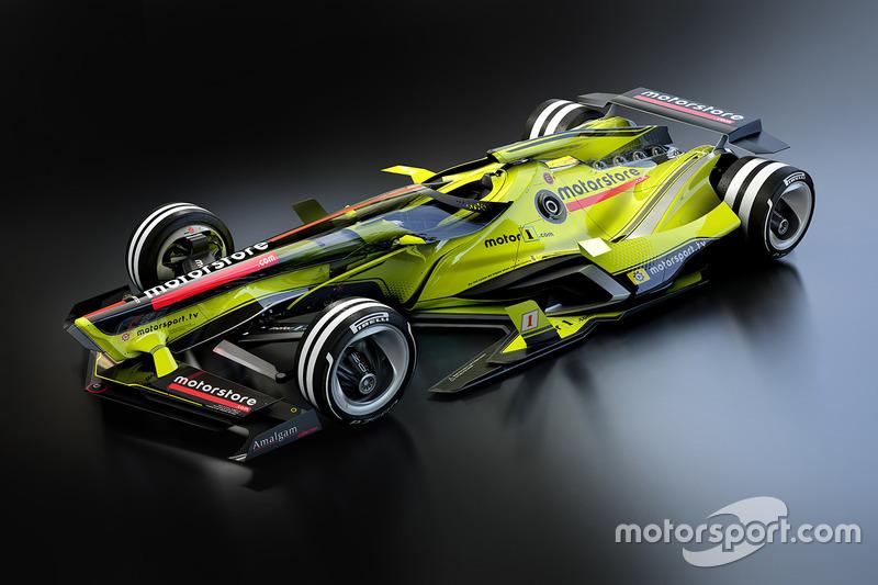 Fantasy F1, design delle monoposto del futuro