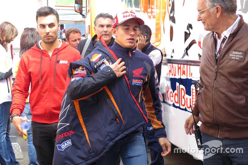 Marc Marquez, Repsol Honda Team dopo la lussazione alla spalla