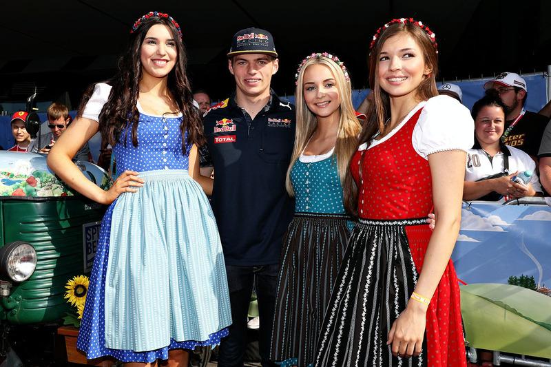 Max Verstappen, Red Bull Racing mit Formula Una - Girls