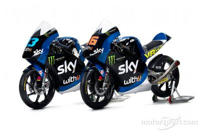 Sky Racing Team VR46 unveil