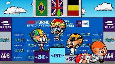第2戦ディルイーヤePrixレース2