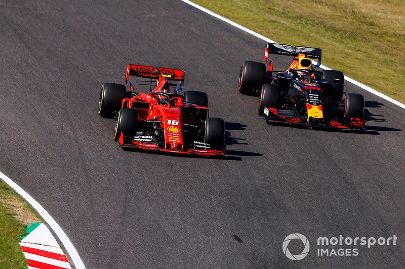 Red Bull perdeu terreno para a Ferrari em 2019.