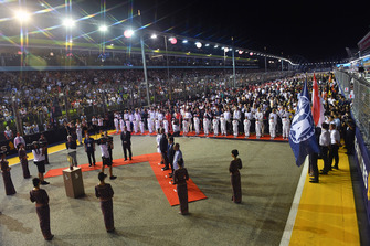 National Anthem on the grid