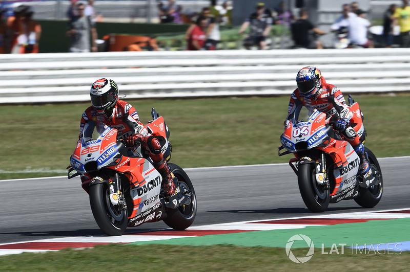 Хорхе Лоренсо, Андреа Довіціозо, Ducati Team