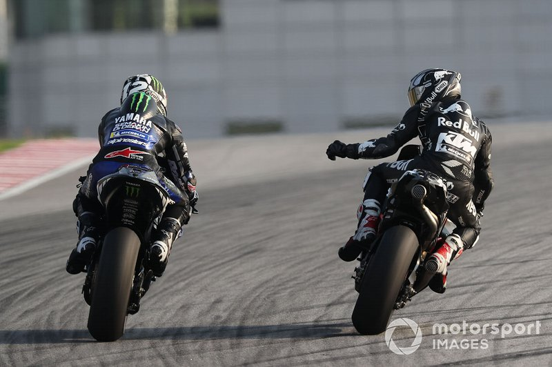 Maverick Vinales, Yamaha Factory Racing, Hafizh Syahrin, Red Bull KTM Tech 3