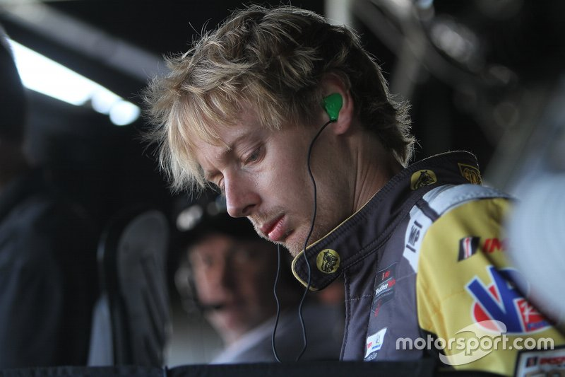 #5 Mustang Sampling Racing: Brendan Hartley