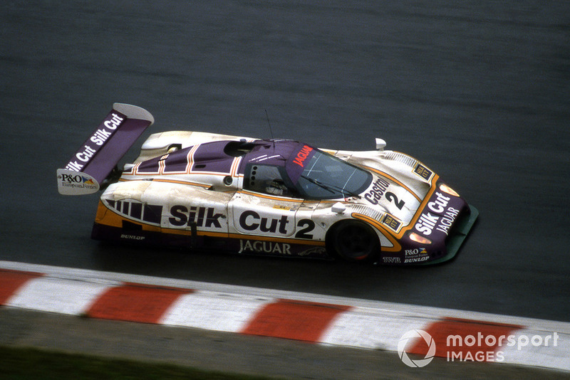 #2 Silk Cut Jaguar XJR-9: Martin Brundle, Jan Lammers, Silk Cut Jaguar XJR-9