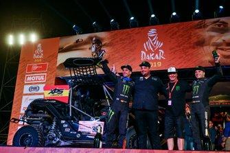 Podium: Monster Energy Can-Am: Gerard Farres Guell, Daniel Oliveras Carreras