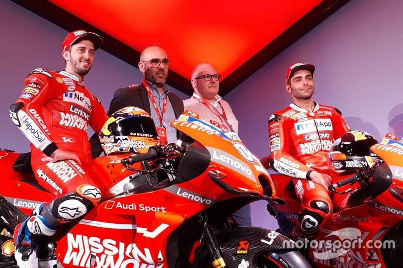 Andrea Dovizioso ve Danilo Petrucci, Ducati Team