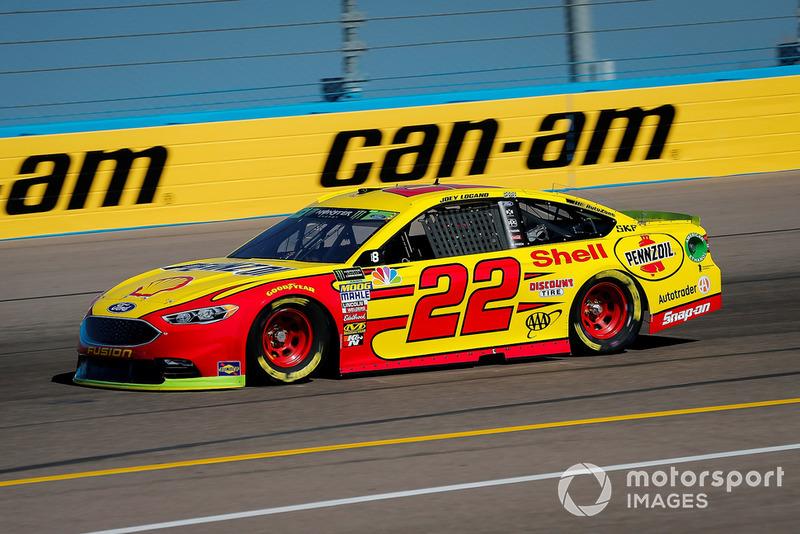 9. Joey Logano, Team Penske, Ford Fusion Shell Pennzoil