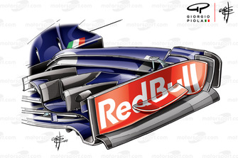Toro Rosso STR13 endplate, United States GP