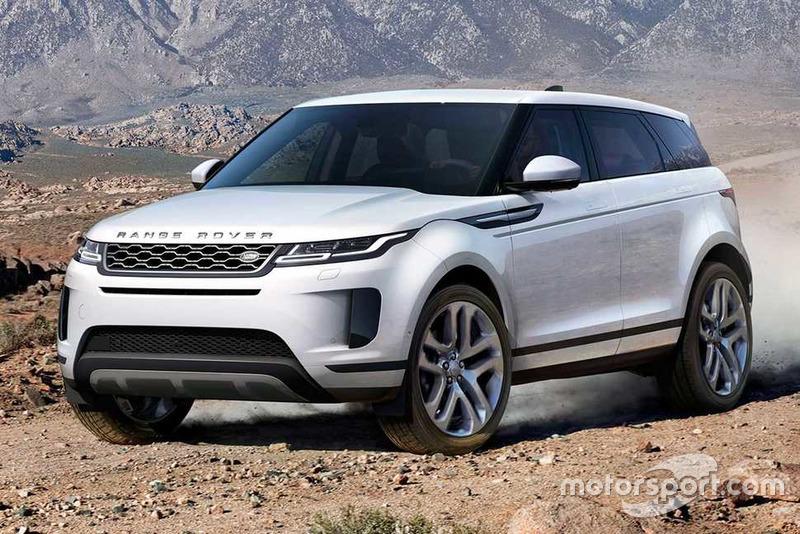 Range Rover Evoque 2020 року