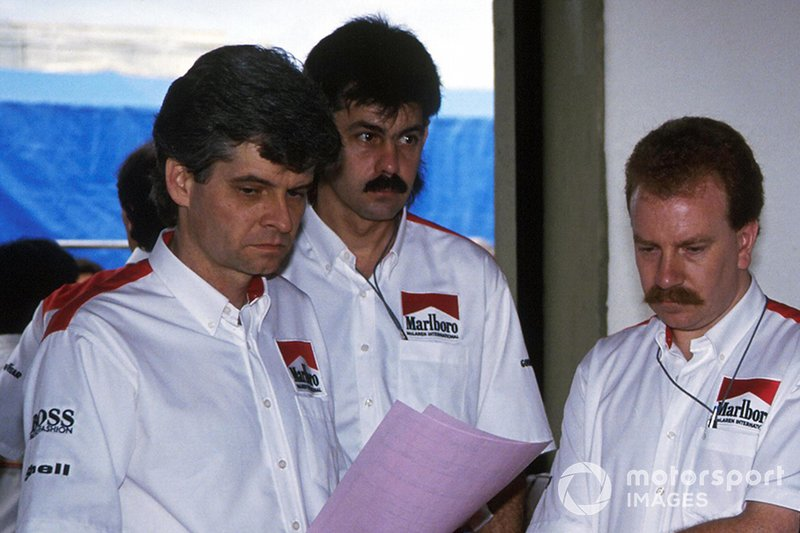 Steve Nichols, Gordon Murray, Neil Oatley