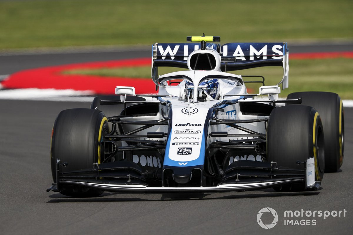 P18 Nicholas Latifi, Williams FW43