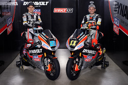 Marcel Schrötter and Sandro Cortese, Dynavolt Intact GP with the team