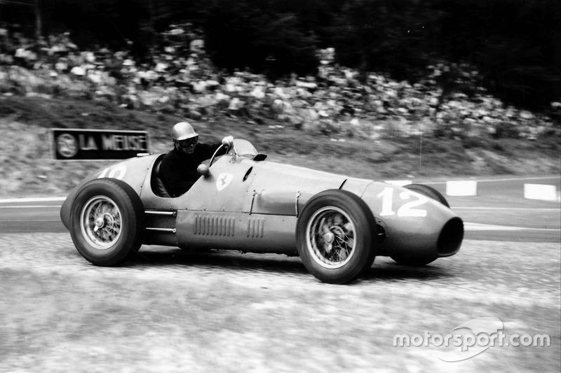 Piero Taruffi (Ferrari) - GP Swiss 1952