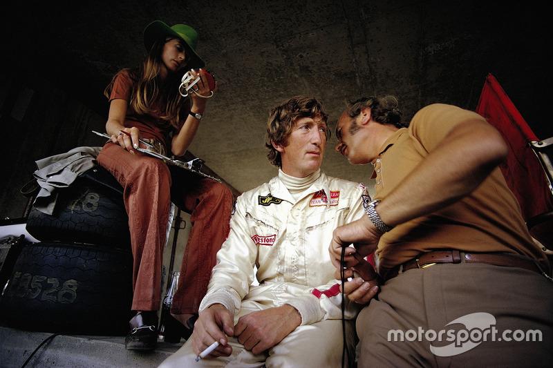 Jochen Rindt e Colin Chapman
