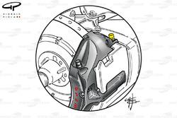 Brembo brake caliper purge valve