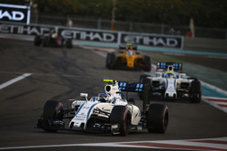 Valtteri Bottas, Williams FW38, voor Felipe Massa, Williams FW38