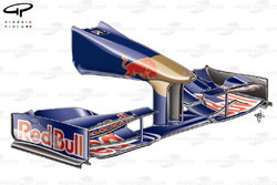 STR4 (Red Bull RB5) 2009 front wing and nose