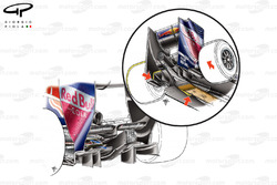Red Bull RB5 2009 Silverstone diffuser