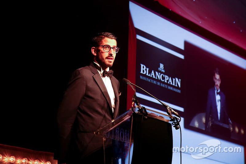 Hugo da Silva, especialista en eventos de Blancpain