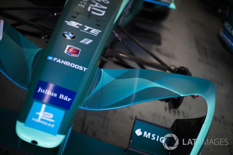 NIO Formula E Team bodywork