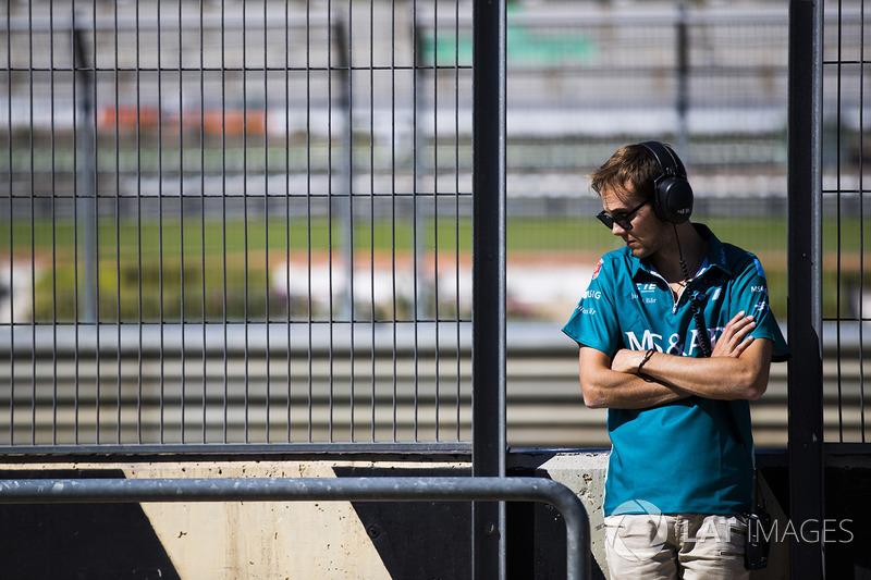 #27 Tom Blomqvist, Amlin Andretti Formula E Team