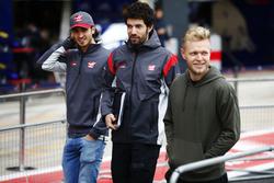 Kevin Magnussen, Haas F1 Team, Antonio Giovinazzi, Ferrari ve Haas F1 Team test pilotu