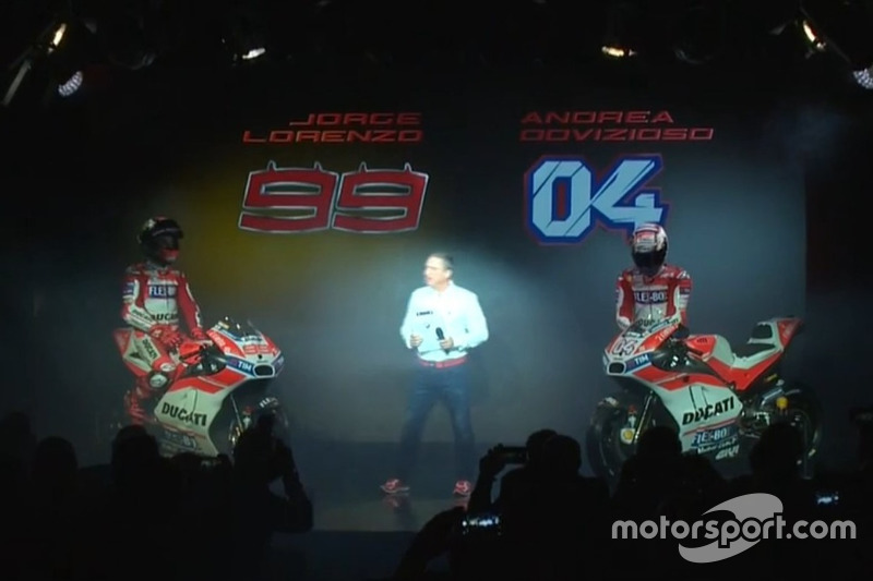 Ducati-Präsentation 2017 (Screenshot)