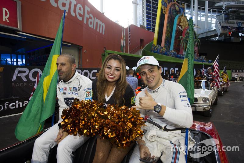 Team Brasil Felipe Massa y Tony Kanaan
