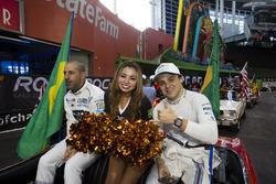 Team Brazil Felipe Massa and Tony Kanaan