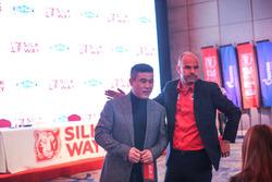 2017SWR北京发布会,周勇与乐吉安