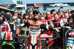 Le deuxième, Chaz Davies, Ducati Team